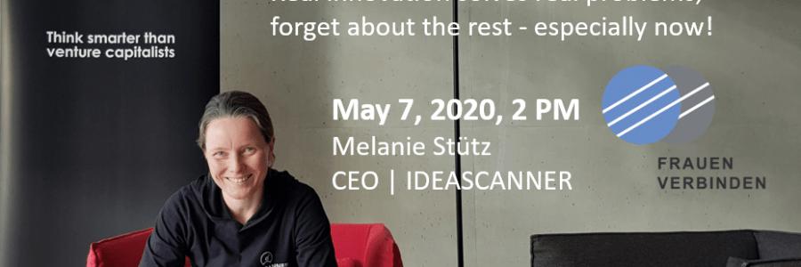 Webinar: May 7, 2020, 2 PM @FRAUEN VERBINDEN