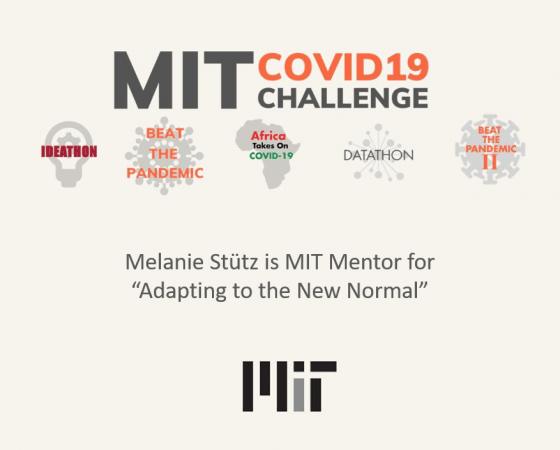 Adapting to the New Normal: Melanie Stütz, Mentor @MIT