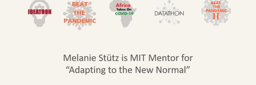 Adapting to the New Normal: Melanie Stütz, Mentor @MIT