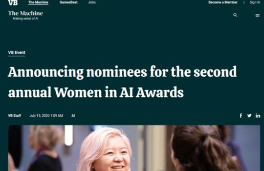 Women in AI Awards: Melanie Stütz has been nominated