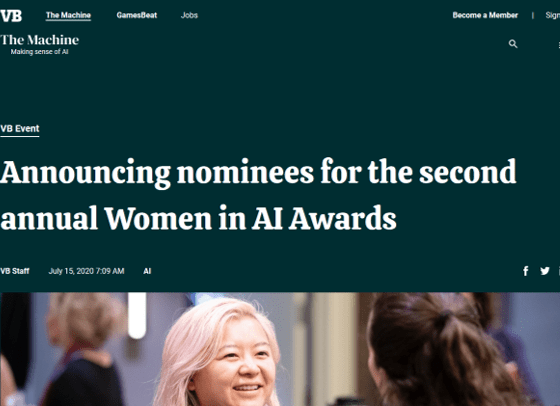 Women in AI Awards: Melanie Stütz has been nominated