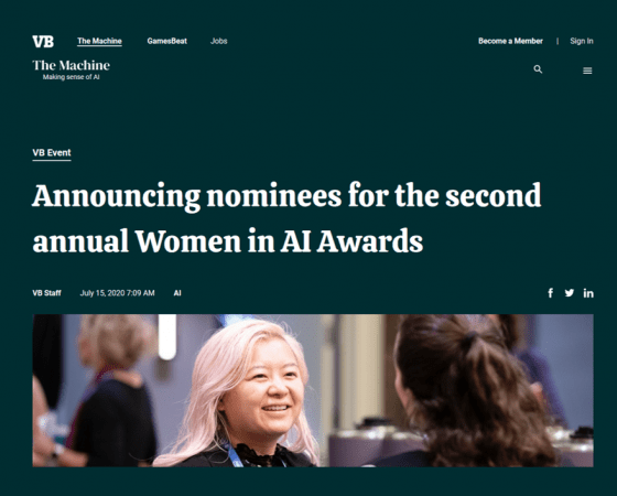 VentureBeat's Women in AI Awards Nominee: Melanie Stütz