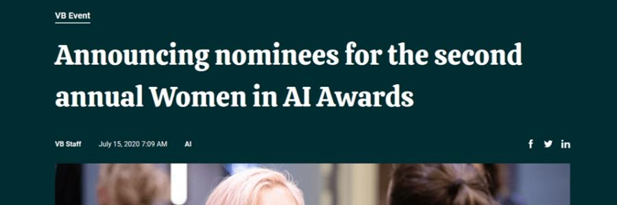 VentureBeat's Women in AI Awards Nominee: Melanie Stütz