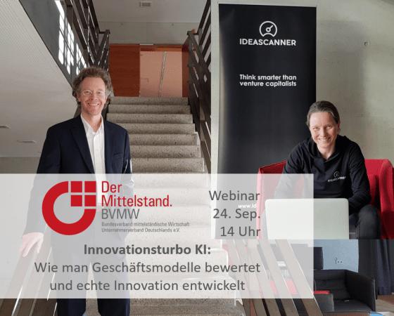 Webinar: Der Mittelstand. BVMW + IDEASCANNER