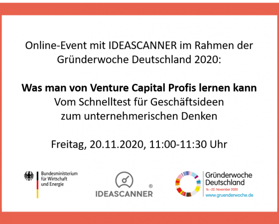 IDEASCANNER in Education, Global Entrepreneurship Week