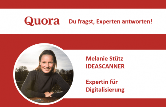 Expert Q&As on Quora: From  Walls and Digitization