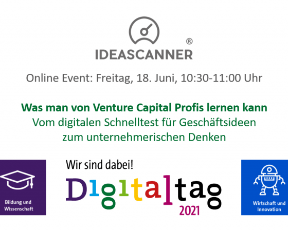 Digitaltag: Insights into entrepreneurial thinking