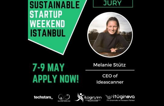 Techstars: Jury, Sustainable Startup Weekend Istanbul