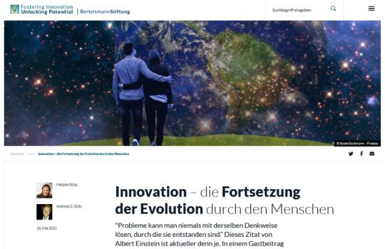 Bertelsmann Foundation: Fostering Innovation