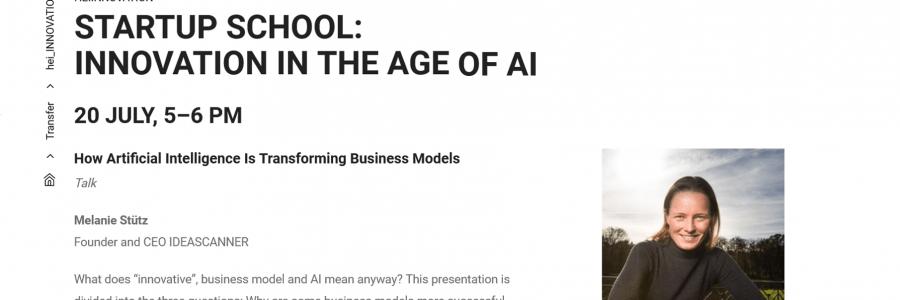 University Heidelberg: How AI is transforming business models