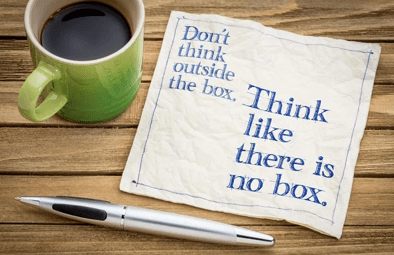 Forbes: Why 'Thinking Outside The Box' Is The Wrong Way…