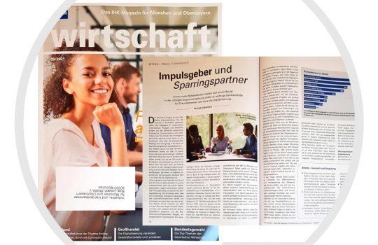 IHK Magazin: IDEASCANNER als Sparringspartner