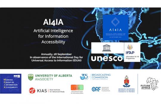 UNESCO: AI4IA Konferenz mit IDEASCANNER