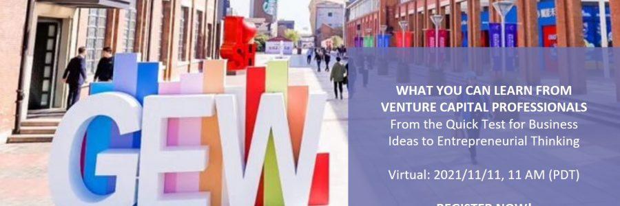 Global Entrepreneurship Week USA with IDEASCANNER